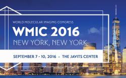 World Molecular Imaging Congress 2016, New York, The Javits Center